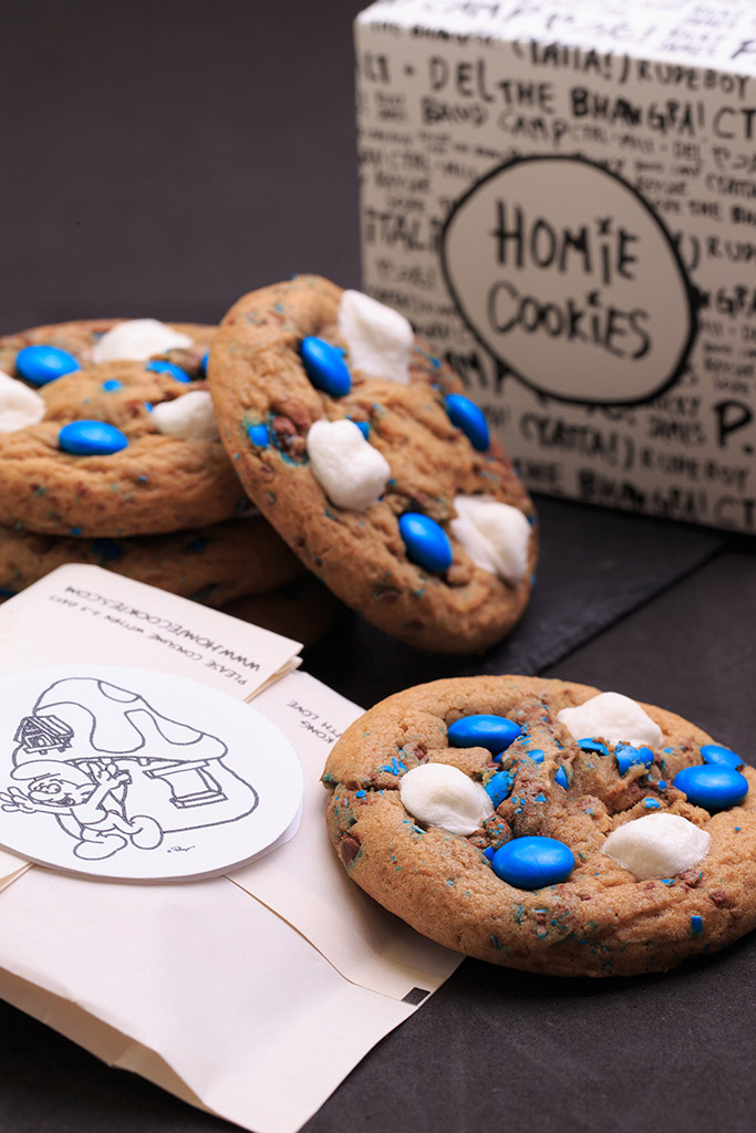 Smurf-themed desserts in Habour City | Atria Serviced Apartments ...